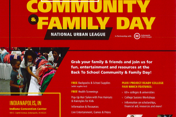 Back to School Community and Family Day – Saturday, July 27th