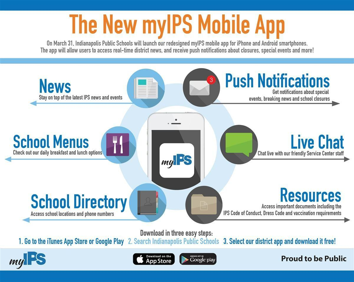 IPS to Unveil New Mobile App | Indianapolis Public Schools